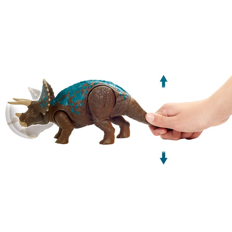 Đồ Chơi Mô Hình JURASSIC WOLRD MATTEL Khủng Long Tam Giác Long Triceratops GVH66/GJN64