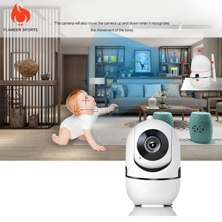 Flameer Sports Q2 1080P Wireless WiFi Home Security IP Camera for Baby Pet Monitor US Plug