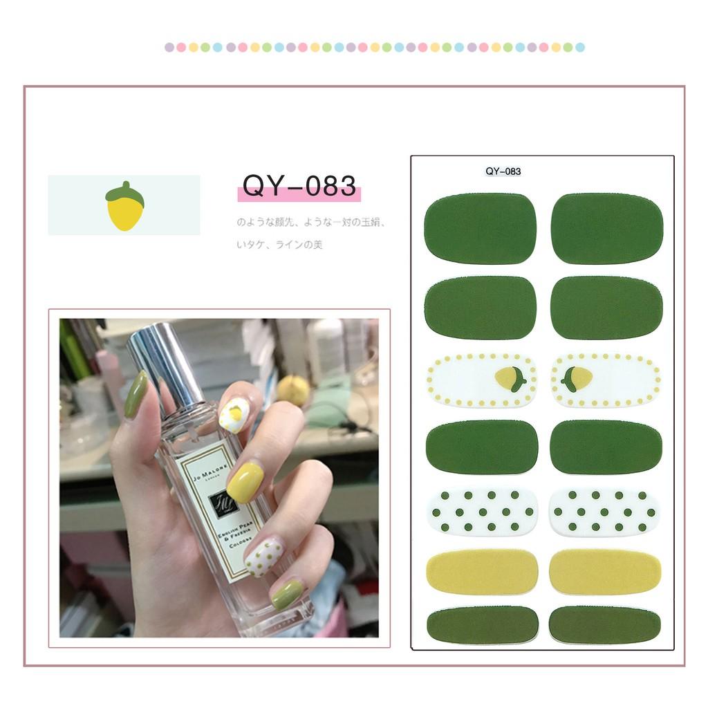 Miếng dán móng tay nail nhiều hình dễ thương N02