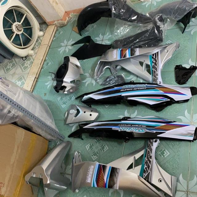 Ớ Full dàn áo sirius màu xanh lục bảo ( dàn màu + nhám + tem dán bán  1,411,797đ   Namk shop 1k