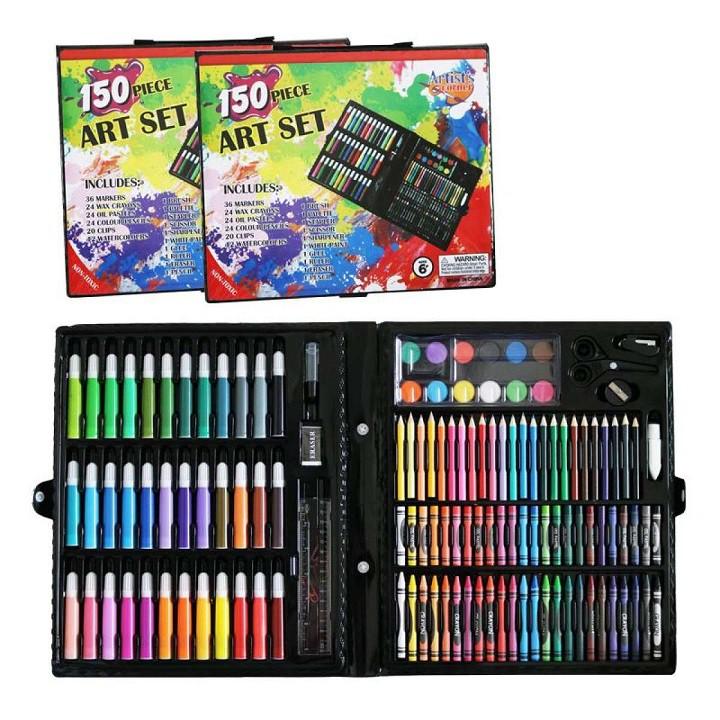 Hộp màu 150 chi tiết dành cho bé 3 đến 5 tuổi