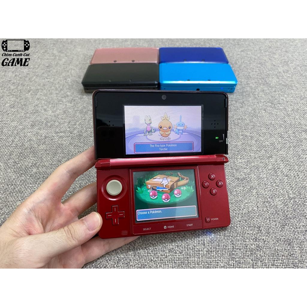 Máy Nintendo 3DS (Miễn phí cài Game, Phụ kiện đầy đủ) - Nintendo