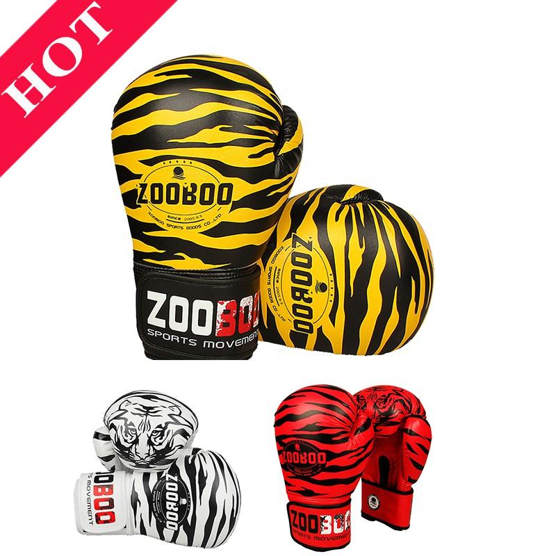 Găng tay boxing Zooboo - Găng tay đấm bốc [ chính hãng 2019 ]