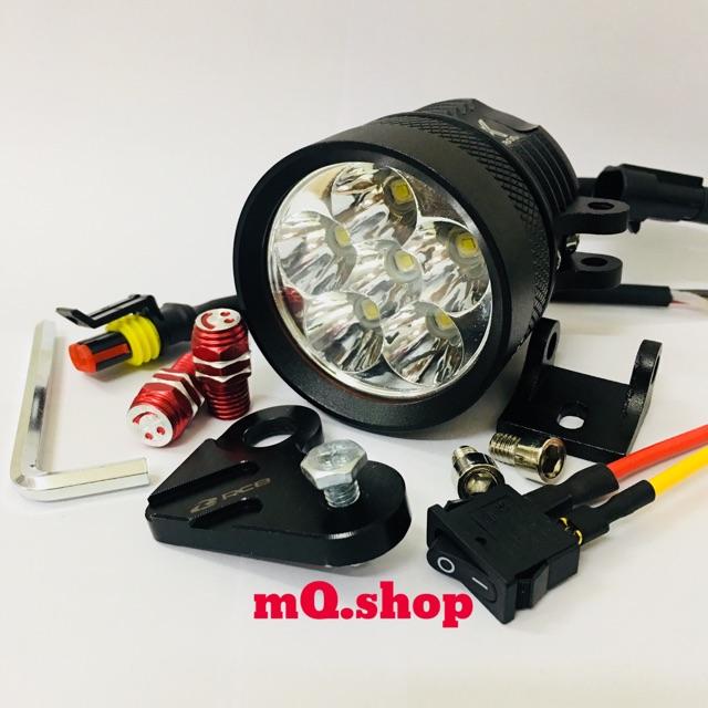 Đèn trợ sáng L4X cải tiến L6X (Full phụ kiện)