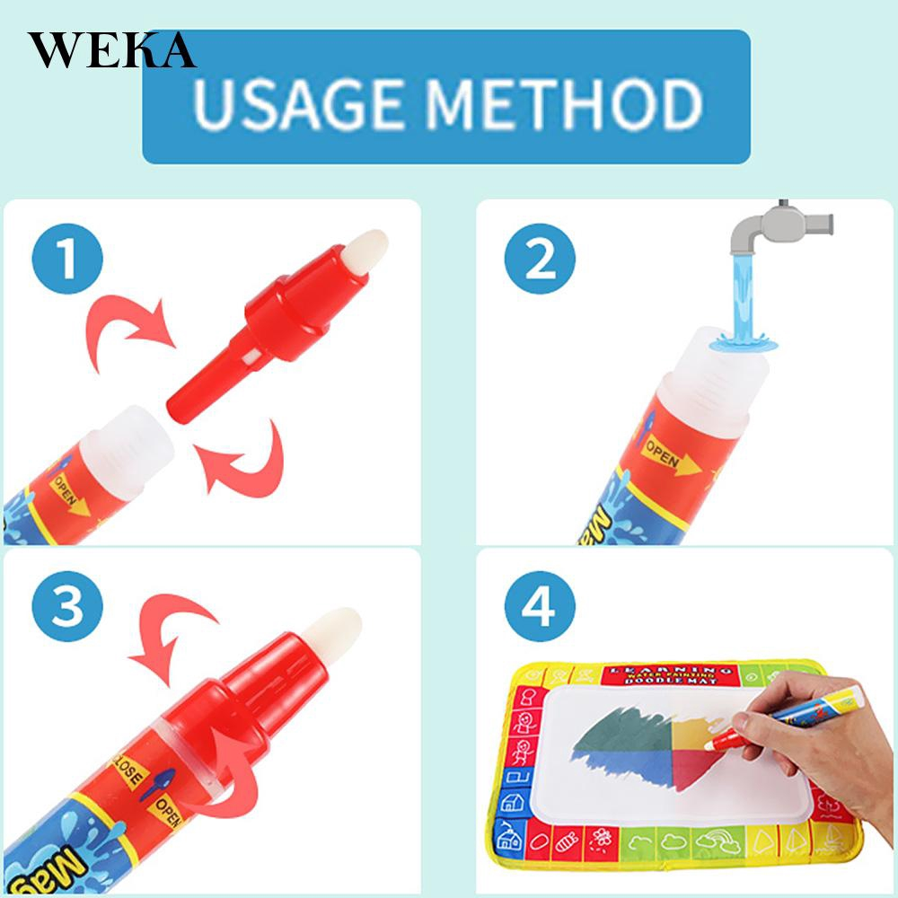 72*48 Children Kids Magic Pen Water Learning Writing Painting Drawing Mat 2019