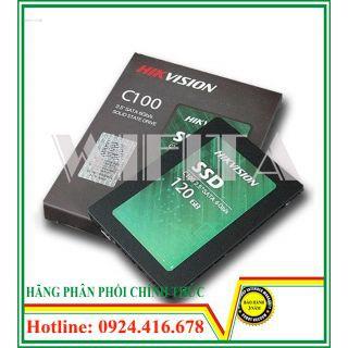 Ổ cứng SSD Hikvision C100 dung lượng 120GB, Bảo hành chính hãng 36 tháng Giá chỉ 444.000₫