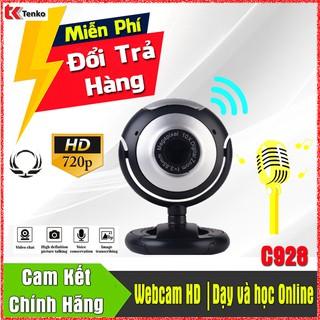 [Mã ELFLASH5 giảm 20K đơn 50K] (Chính Hãng) Webcam HD Dạy và Học Online Có Mic   Omega C928