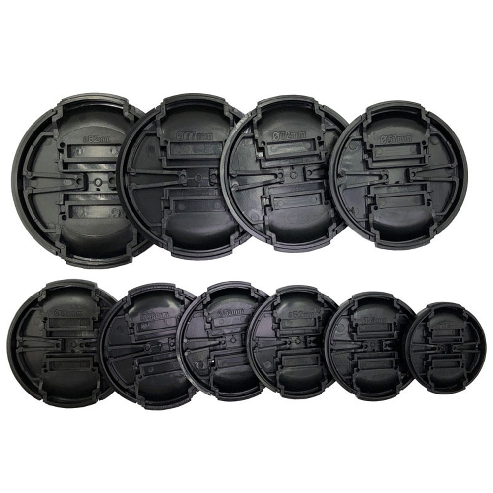 Scratchproof Protective Portable Easy Install Round Dustproof Travel Universal Lens Cap