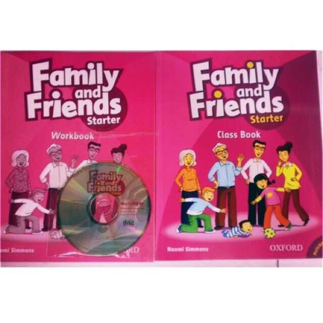 Sách- combo Family and Friend 1 + starter