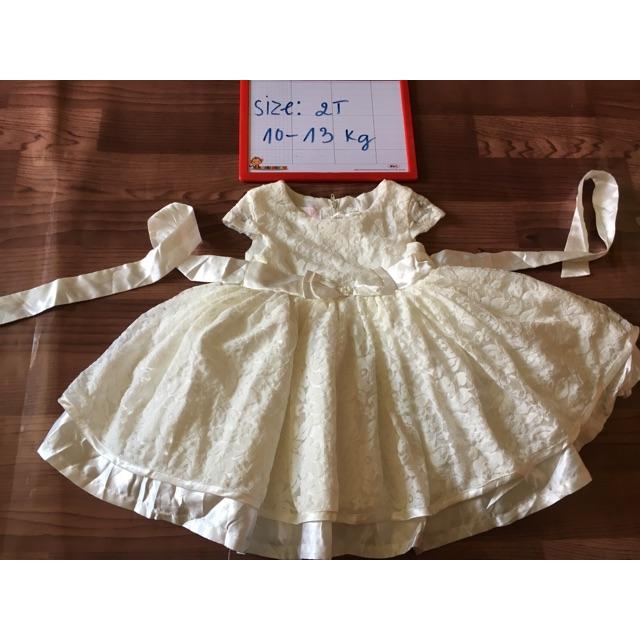 Đầm xoè công chúa bé gái 2 cái
