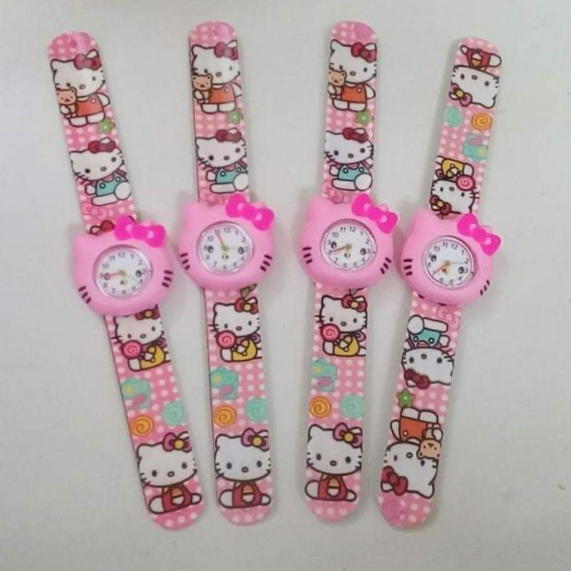 √ Hot Sales 3 ngày - Đồng hồ đập tay Hello Kitty cho các bé gái