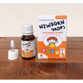 Vitamin D3 – Newborn Drops