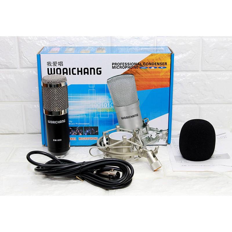 Micro thu âm chuyên nghiệp Woaichang BM900 chính hãng - 23045017 , 2357753146 , 322_2357753146 , 340000 , Micro-thu-am-chuyen-nghiep-Woaichang-BM900-chinh-hang-322_2357753146 , shopee.vn , Micro thu âm chuyên nghiệp Woaichang BM900 chính hãng