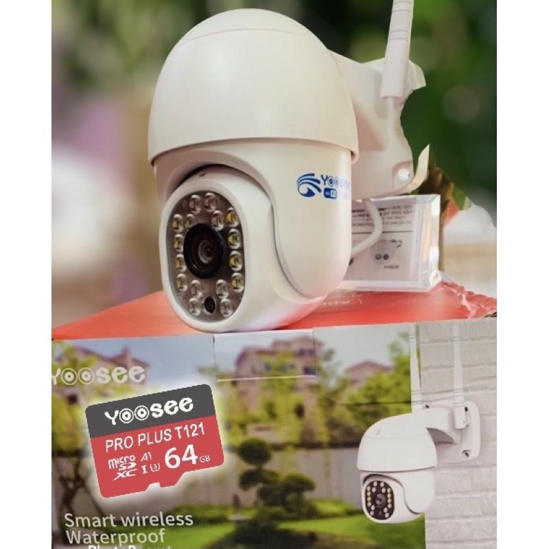 Camera YooSee PTZ mini xoay 360 - Full HD Siêu nét 2.0mpx