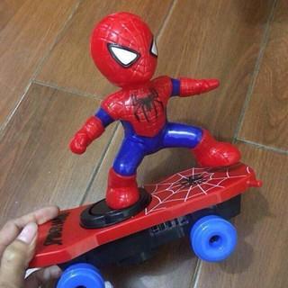 ( SIÊU GIẢM GIÁ ) Đồ chơi người nhện trượt ván