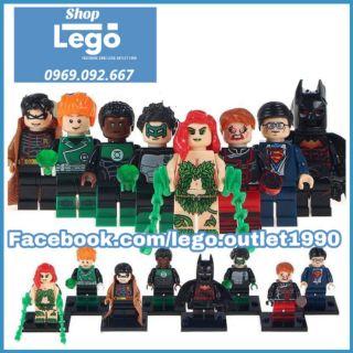 Xếp hình Siêu anh hùng Lego Minifigures WM6013 thumbnail