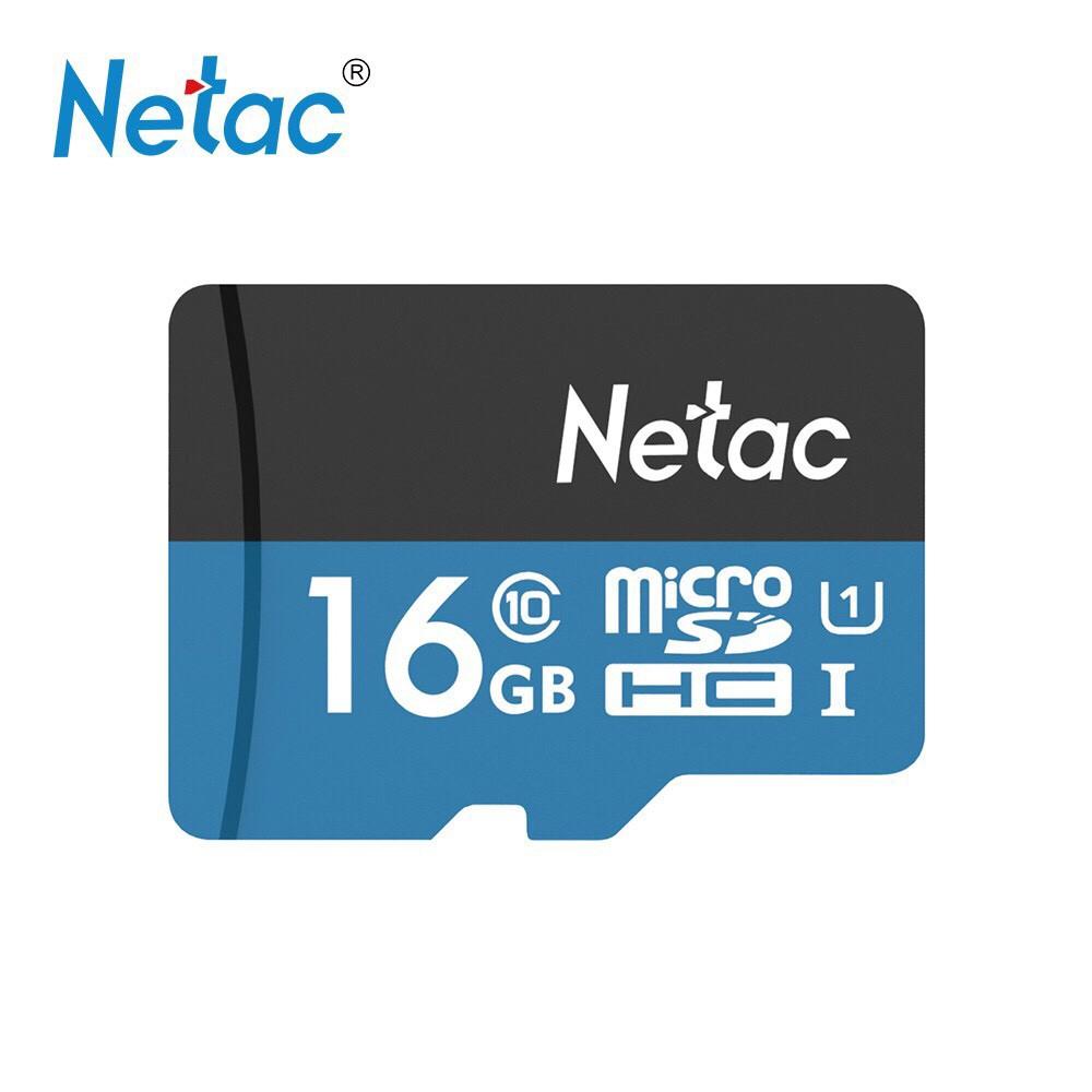 Thẻ nhớ chính hãng Netac 16G class 10 - BH 05 năm