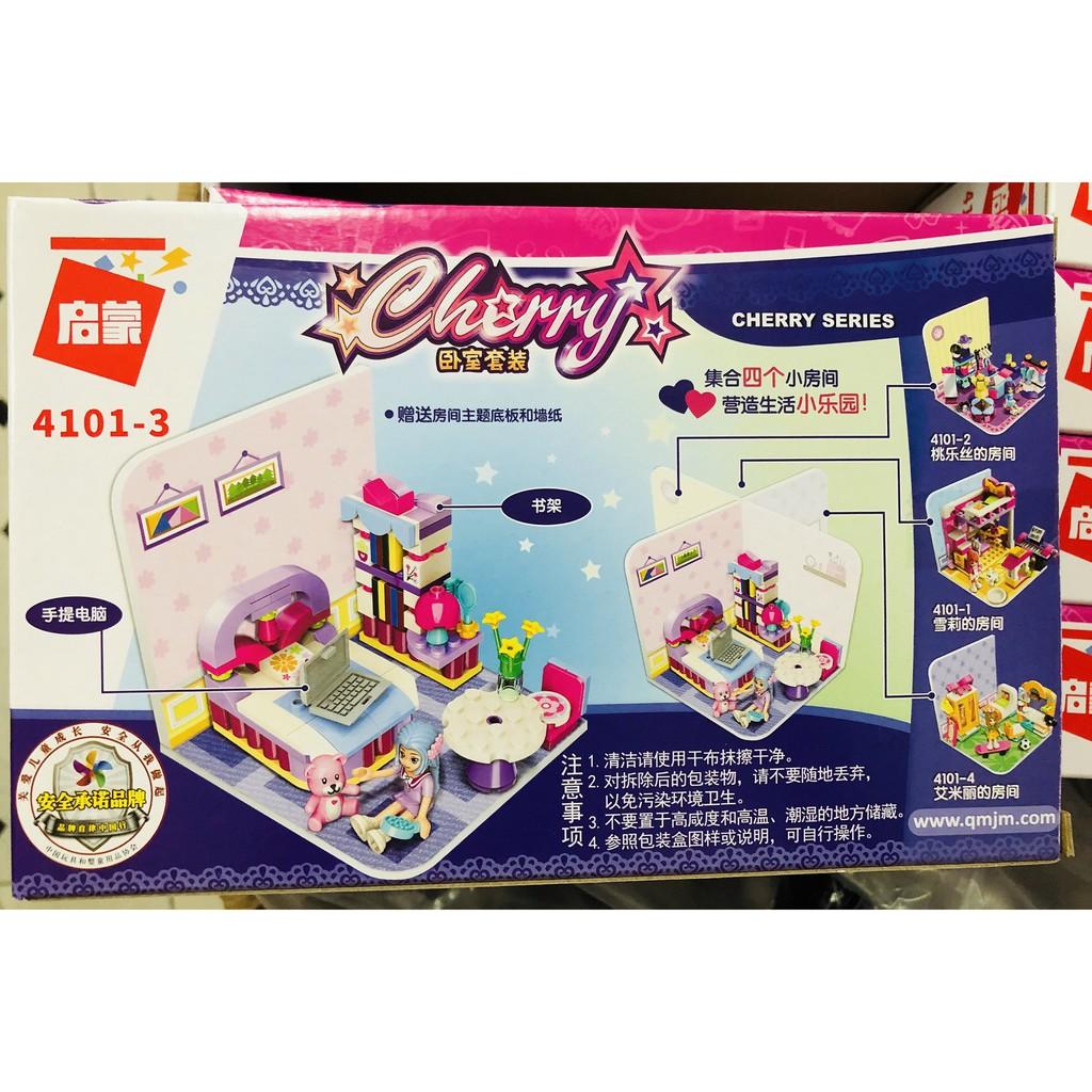 Bộ lego phòng ngủ của cherry 116 chi tiết