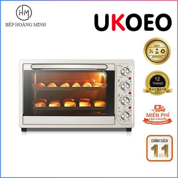 Lò nướng bánh - nướng thực phẩm Ukoeo 52L HBD5002. Bảo hành 12 tháng chính hãng