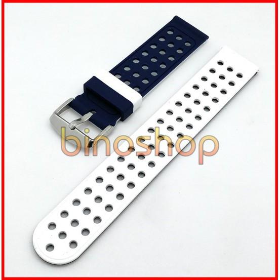 Dây Silicon dành cho đồng hồ 20mm - 22mm