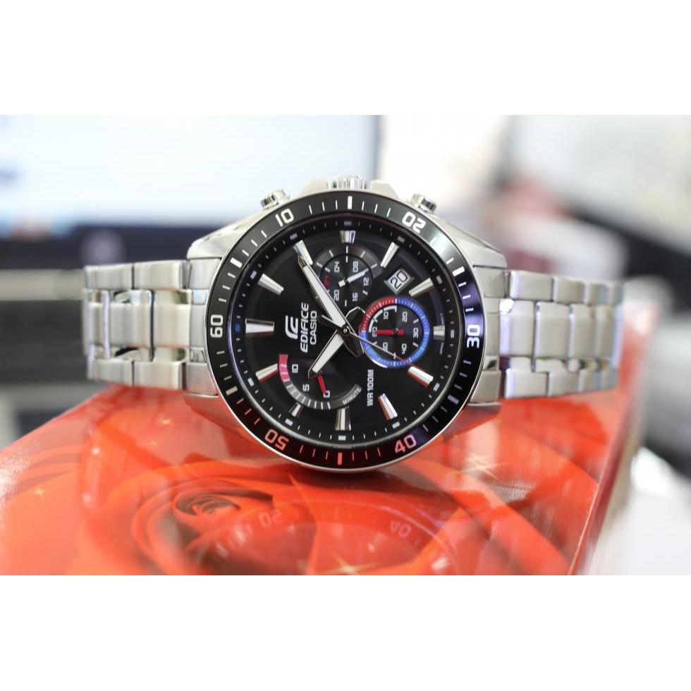 Đồng hồ nam EDIFICE chính hãng Casio Anh Khuê EFR-552D-1A3VUDF