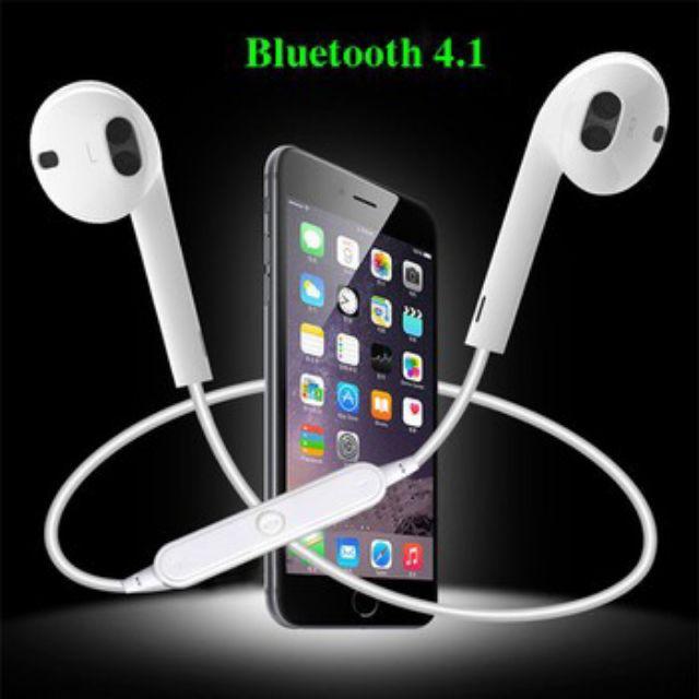 Tai nghe xịn bluetooch thể thao S6 kiểu nhét tai