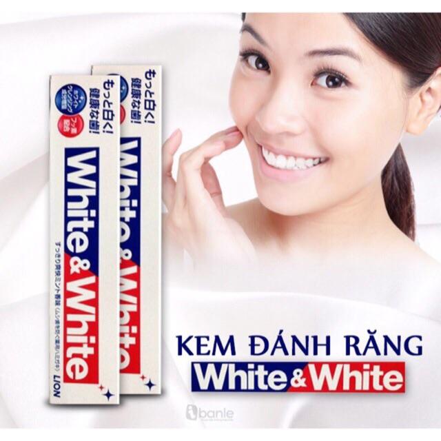 Kem đánh răng White and White Lion 150g Auth Nhật - 3054165 , 321442717 , 322_321442717 , 80000 , Kem-danh-rang-White-and-White-Lion-150g-Auth-Nhat-322_321442717 , shopee.vn , Kem đánh răng White and White Lion 150g Auth Nhật
