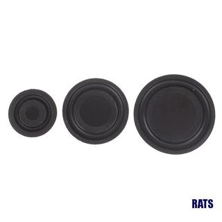 (RATS)2Pcs Rubber Bass Radiator Passive Plate Woofer Vibration Membrane 30MM 40MM 50MM