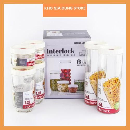 Hộp đựng thực phẩm Interlock Lock&Lock