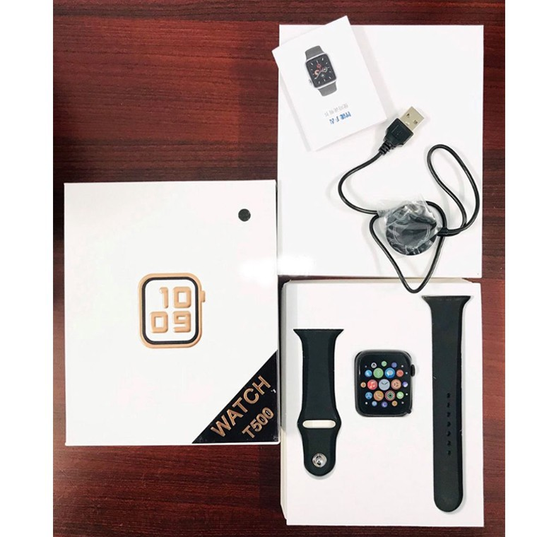 ☞♗[GIÁ HUỶ DIỆT] Đồng hồ thông minh T500 thay được dây chống nước chuẩn ip67 Seri 5 kết nối bluetooth