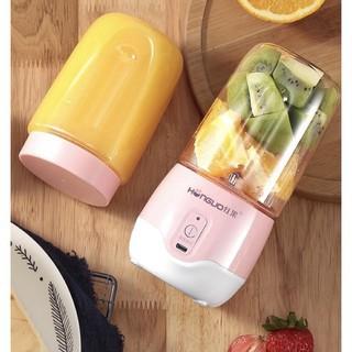 [RẺ VÔ ĐỊCH] Máy Xay Sinh Tố Cầm Tay Mini Hongua 300Ml Loại 6 Lưỡi Xạc Pin Tiện Dụng - Đồ dùng nhà bếp thông minh