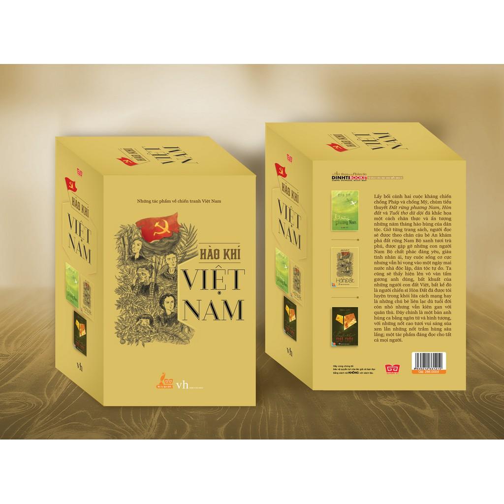 Hộp sách: Hào khí Việt Nam ( Những tác phẩm về chiến tranh Việt Nam: Đất rừng PN. Hòn đất. Tuổi thơ - 3458468 , 811295367 , 322_811295367 , 286000 , Hop-sach-Hao-khi-Viet-Nam-Nhung-tac-pham-ve-chien-tranh-Viet-Nam-Dat-rung-PN.-Hon-dat.-Tuoi-tho-322_811295367 , shopee.vn , Hộp sách: Hào khí Việt Nam ( Những tác phẩm về chiến tranh Việt Nam: Đất rừng P