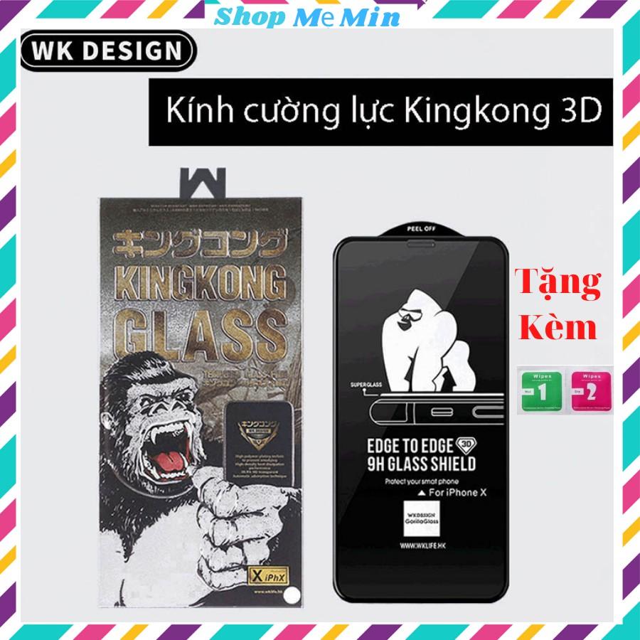 Kính cường lực King kong iphone Full màn 6plus/7plus/8/8plus/x/xs/xs max/11/12 pro/11 promax / 12 promax