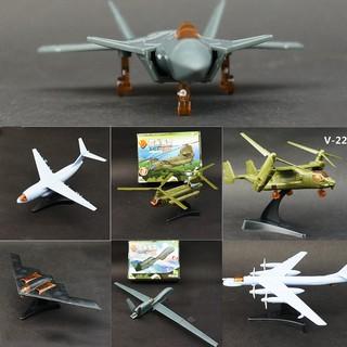 Đồ chơi mô hình máy bay tiêm kích, trinh sát, trực thăng, máy bay ném bom, Mô hình lắp ráp 4D nhựa ABS cao cấp MM0595 thumbnail