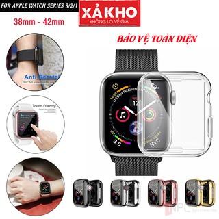 Ốp Dẻo Bảo Vệ Màn Hình Apple Watch Series 3 2 1 38mm 42mm Chống Trầy Xước Va Đập Bễ Vỡ Màn Hình thumbnail