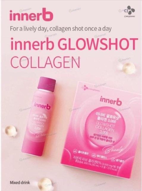 Nước Uống Collagen Innerb Glowshot Collagen 3000Mg thumbnail