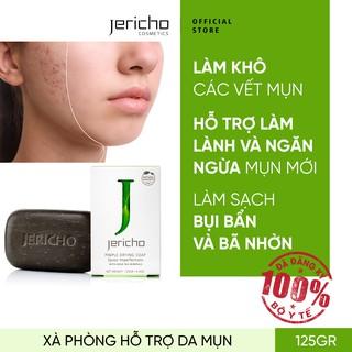 Xà Phòng Hỗ Trợ Da Mụn Từ Muối Biển Chết Jericho Pimple Drying Soap - Giúp làm khô, chữa lành và ngăn ngừa mụn thumbnail