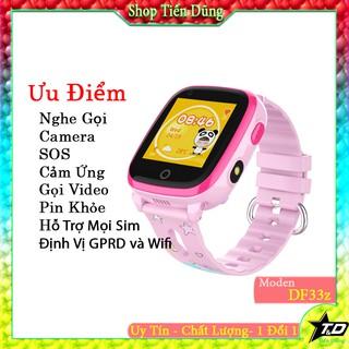 Đồng hồ định vị trẻ em DF33Z hỗ trợ 4G gọi video call chống nước màn hình cảm ứng