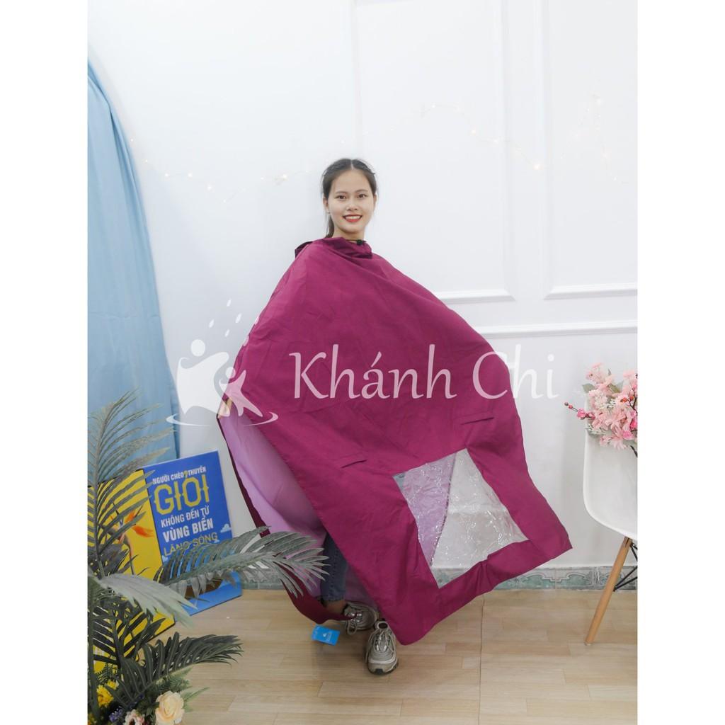 Áo mưa cánh dơi vải dù cao cấp siêu bền siêu nhẹ -  chống thấm chống rách (loại 1 đầu - loại 2 đầu)