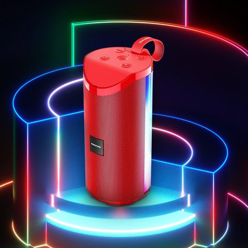Loa Không Dây BOROFONE BR5 , Bluetooth 5.0, Nghe Nhạc, gọi điện, FM, hỗ trợ thẻ nhớ, USB
