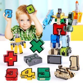 Đồ Chơi Lắp Ráp Robot Biến Hình Cho Bé