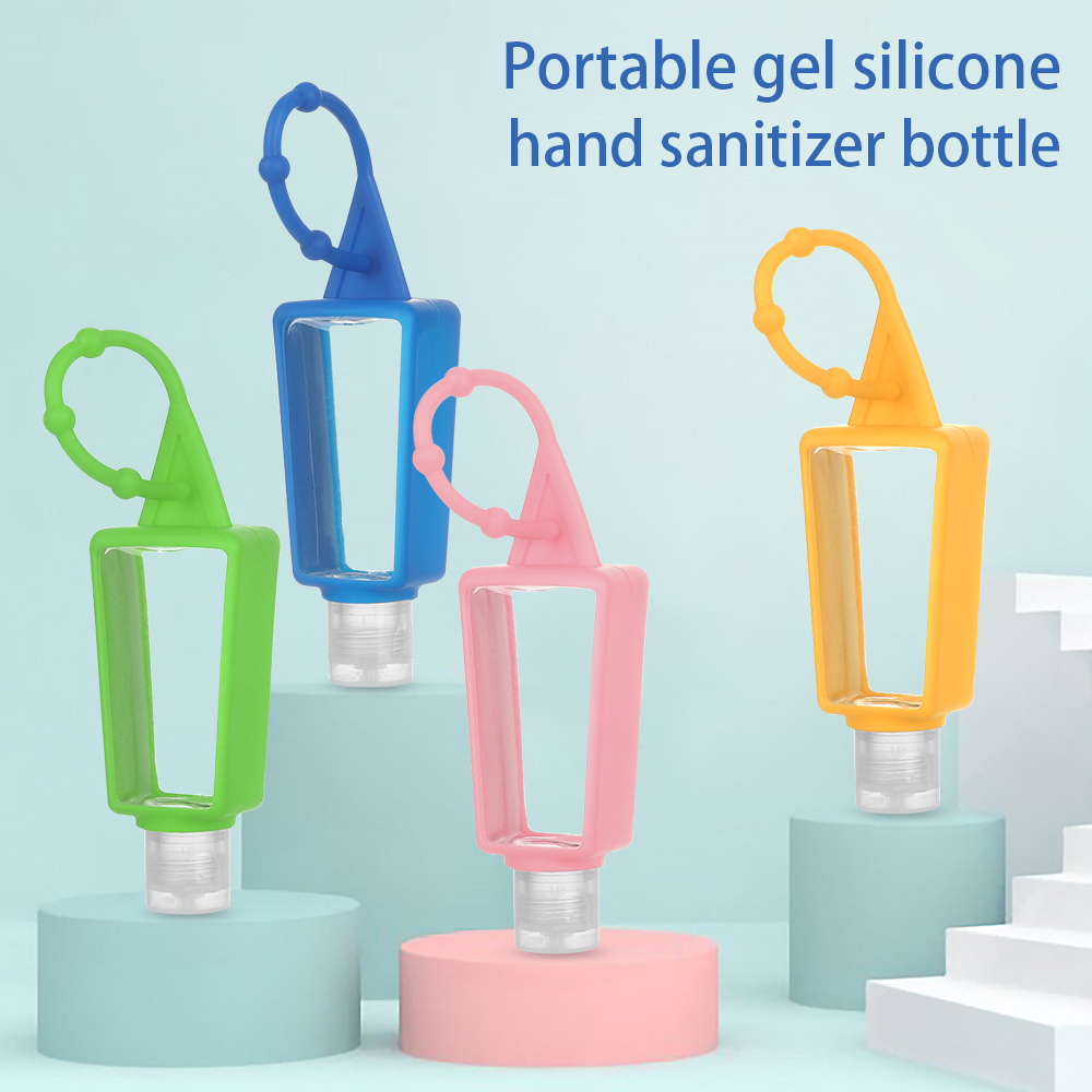 BJIA Portable Silicone Travel Accessories Container Bag Cleanser Container Silicone Bottle