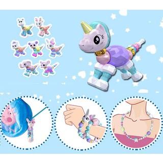 1Pcs Elf Bracelet Twisty Pet Magic Animal Twist Deform Crystal Bracelet Toys