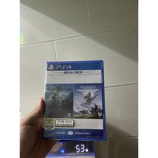Bộ 2 game PS4 God of war 4 và Horizon complete edition (Mega pack) thumbnail