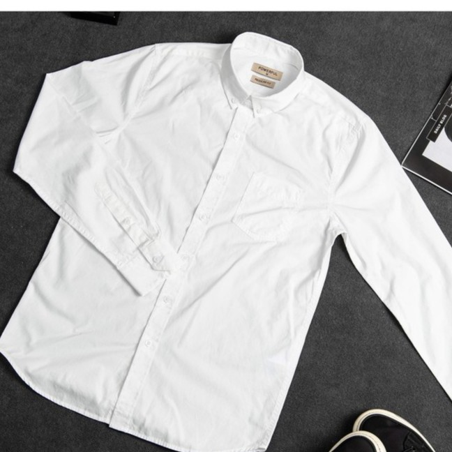 Sơ mi cao cấp 2020,màu trắng 100% cotton