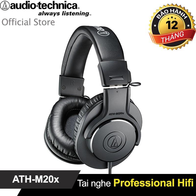 Tai nghe chụp tai Audio Technica ATH-M20X