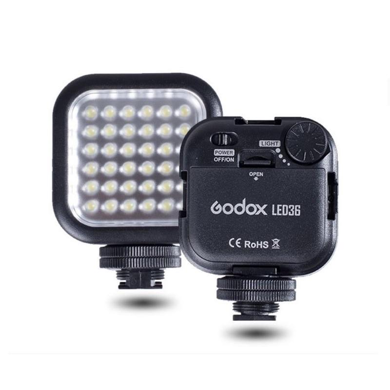 Đèn Flash Godox Led – 36 Cow 5500 K Cho Camera Gopro