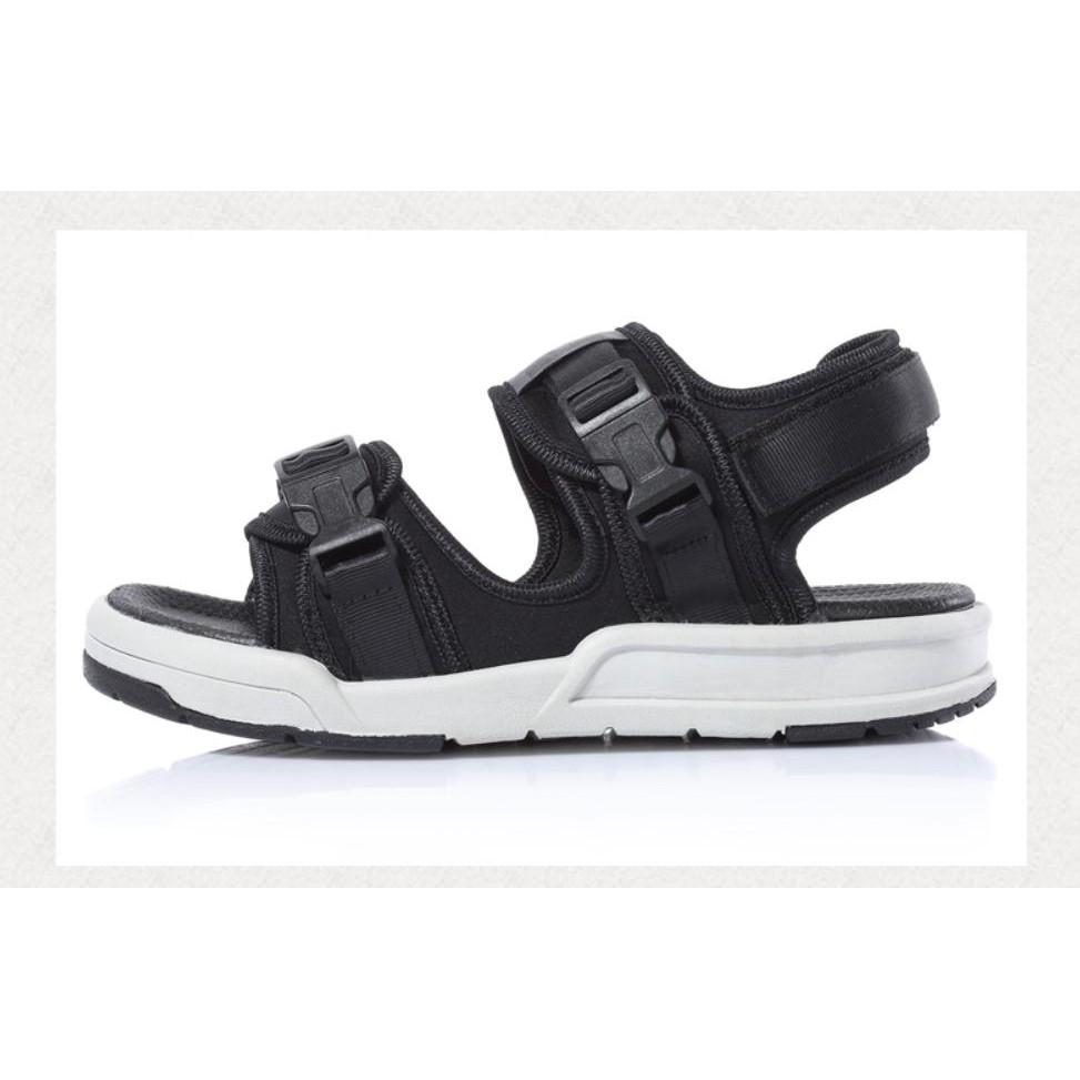 Giày Sandal Nam Nữ Quai Ngang, Chéo IAXYUE 6201 đế ghi