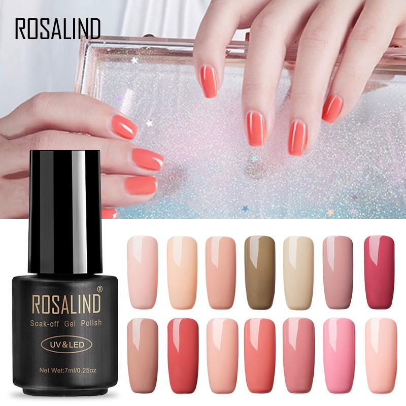 Lọ gel sơn móng tay Rosalind 7ml tiện dụng dành cho nữ