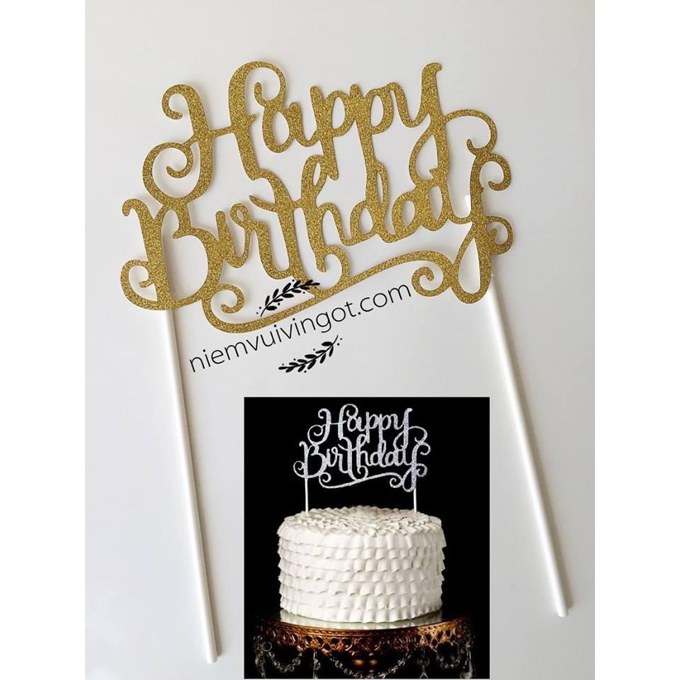 Topper trang trí bánh kem - 2628303 , 58825541 , 322_58825541 , 7000 , Topper-trang-tri-banh-kem-322_58825541 , shopee.vn , Topper trang trí bánh kem